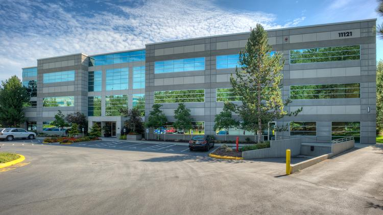 This building was one of two in the Quadrant Willows campus of Redmond that sold earlier this month for $26.65 million. The owner plans to upgrade the buildings and fill them up. They're now about 80 percent occupied.